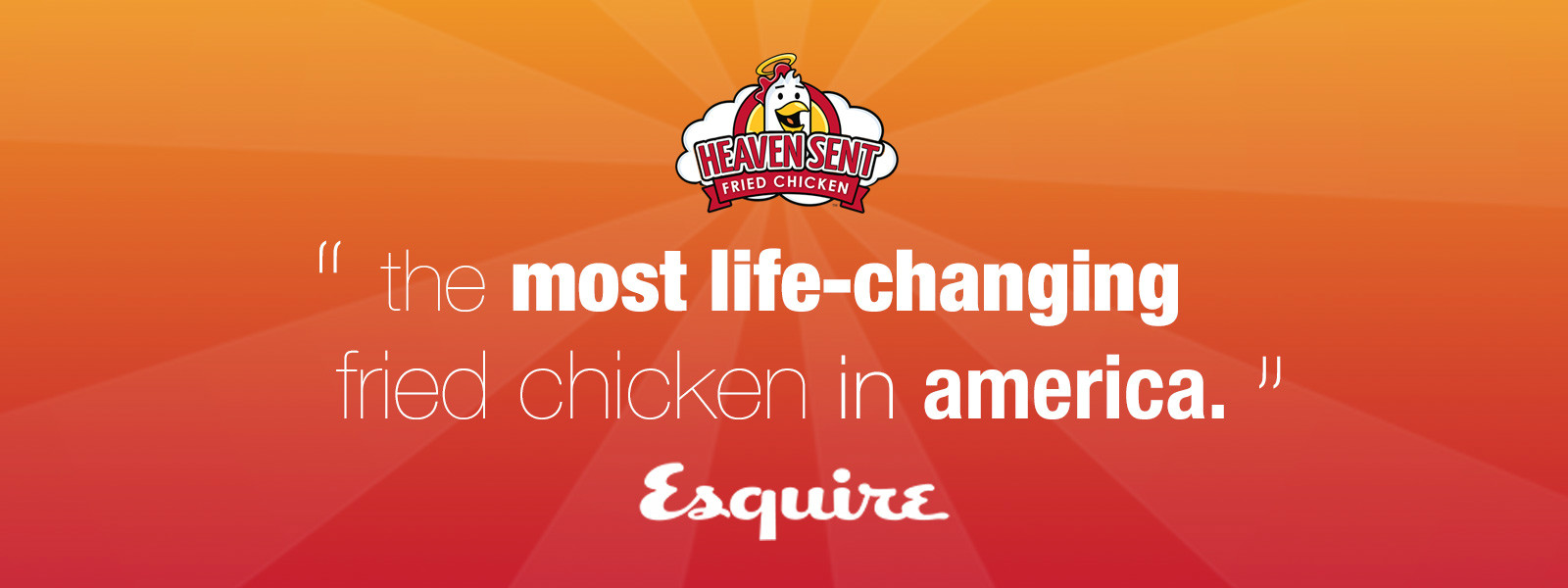 The Most Life-Changing Fried Chicken in America, Esquire Magazine. Heaven Sent Fried Chicken.