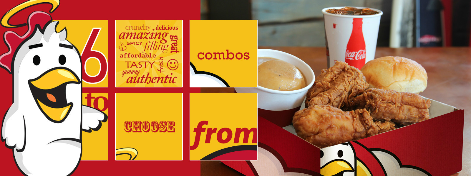 6 Amazing Delicious Combos to Choose From. Heaven Sent Fried Chicken.